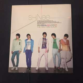 SHINee - Replay (The First Mini Album) CD