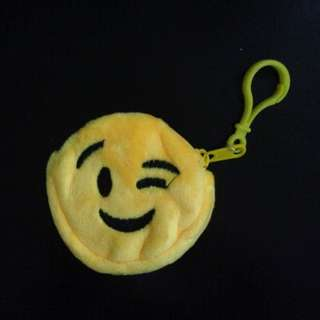Emoticon Emoji Smiley Coin Pouch Purse