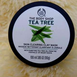 The Body Shop Tea Tree Skin Clearing Clay Mask 100 ml