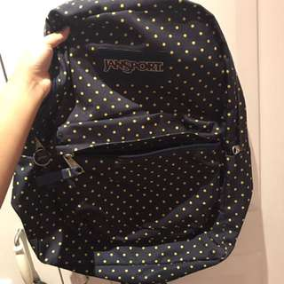 Polka dots Jansport