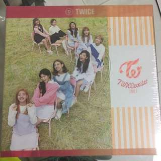 Sealed Instock Twice Twicecoaster Lane 2 With Poster // Sana , Jihyo, Momo, Chaeyoung, Nayeon, Jungyeon, Dahyun, Tzuyu, and Mina  : Comes With Random Photocard Pc