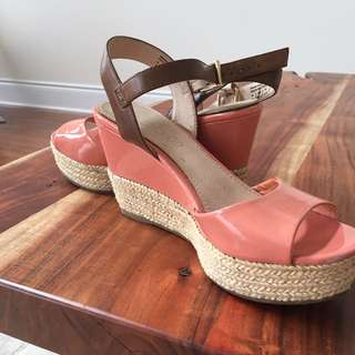 Cute Summery Aldo Wedges
