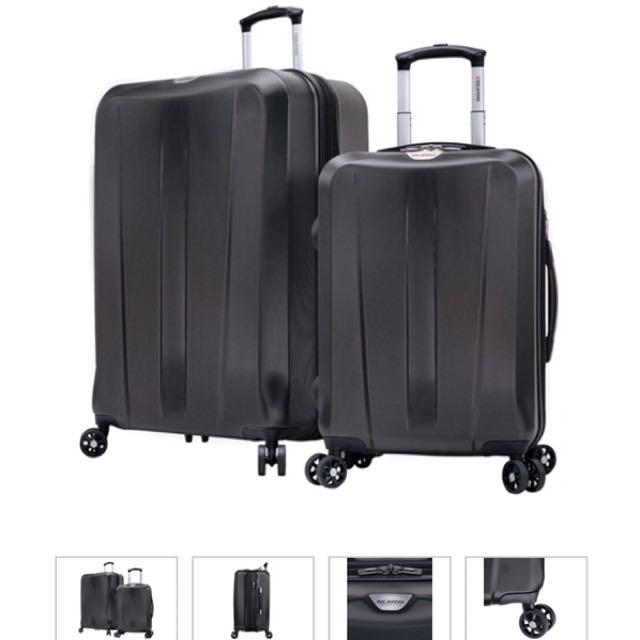 "$4600 Ricardo Seascape 系列硬殼行李箱組 27""+20"" 黑色"