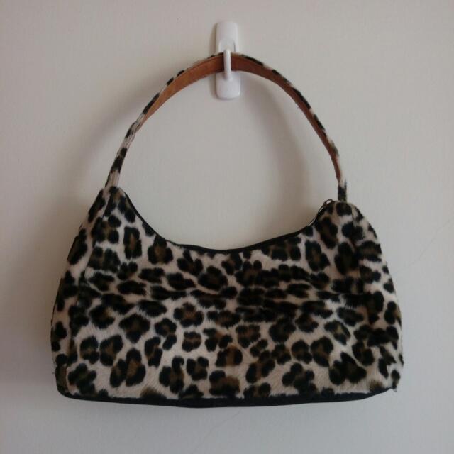 豹紋 手提包  側背包