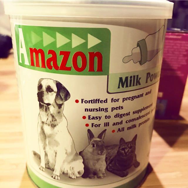愛美康 Amazon 寵物代母奶粉 500g 犬貓兔等小動物適用