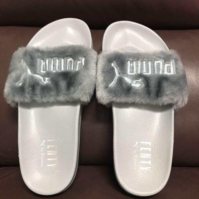 (保留)現貨 Rihanna x Puma Leadcat Gently 灰