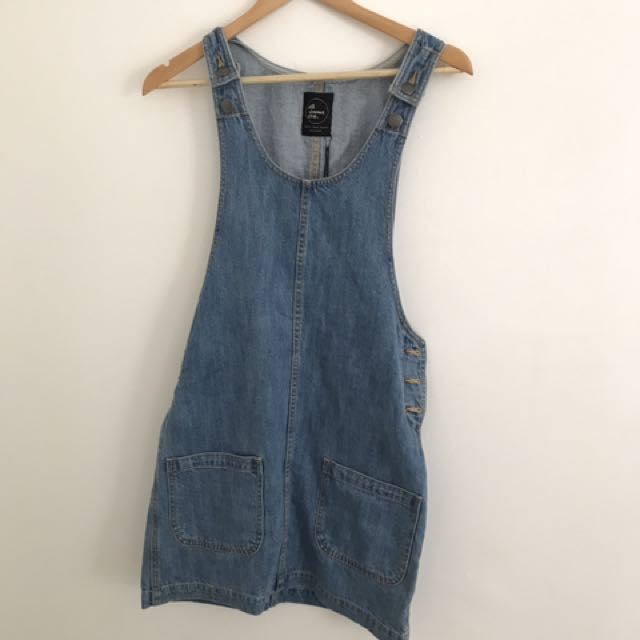 All About Eve Denim Pinafore
