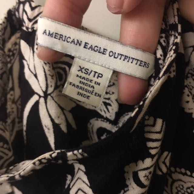 american eagle 度假風連身褲
