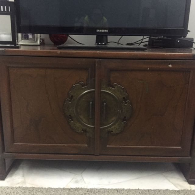 brand new ad1d4 04226 Antique TV cabinet