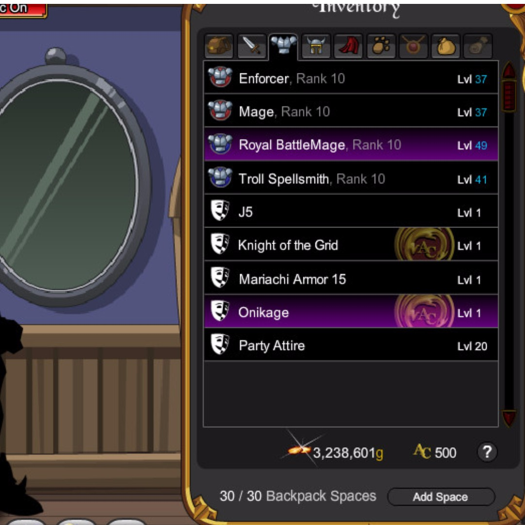 aqw account ( adventure quest worlds ), Toys & Games, Video