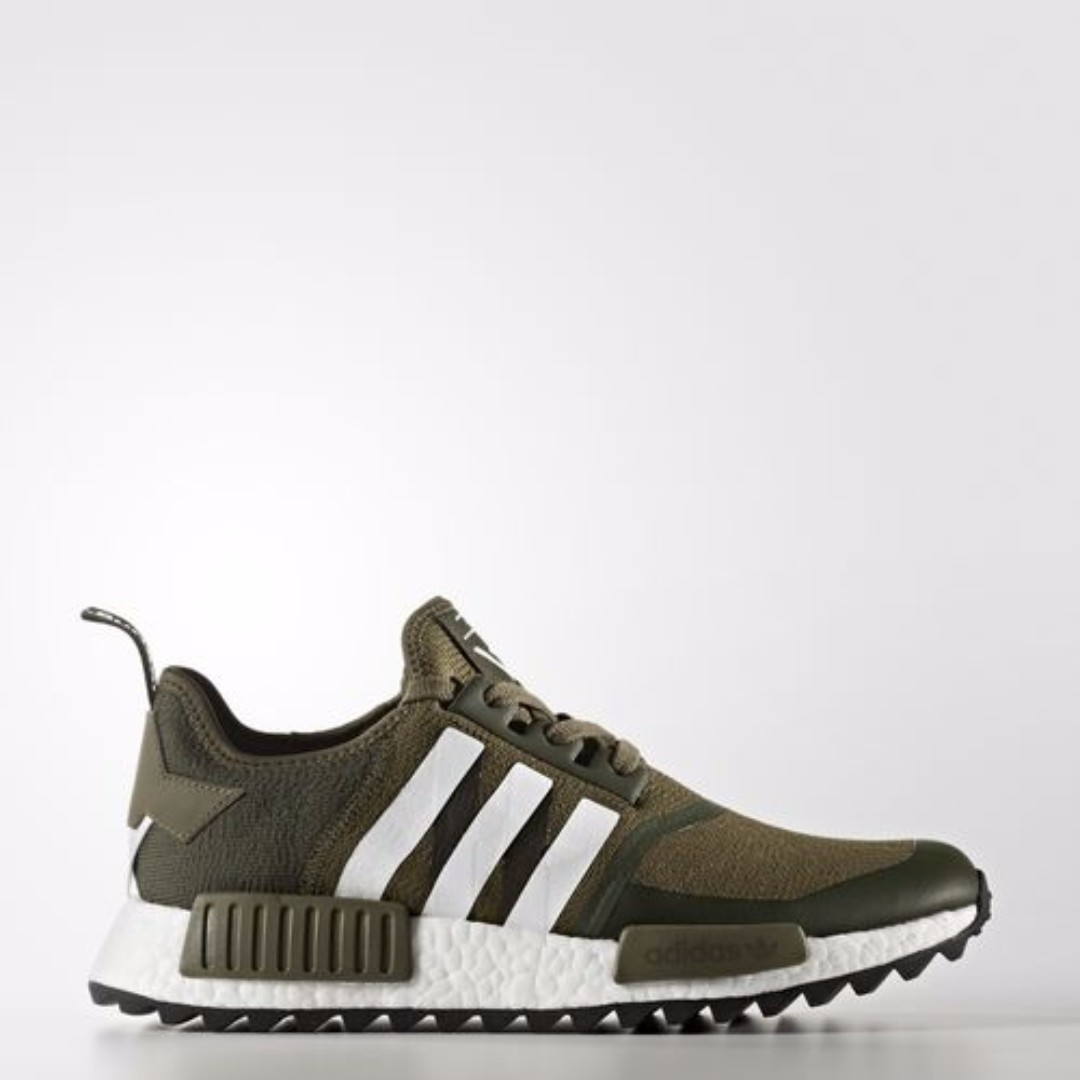 4be3eaa45e373 Authentic Adidas x WHITE MOUNTAINEERING NMD R1 TRAIL PRIMEKNIT ...