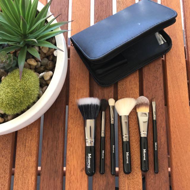 Authentic Morphe Travel Brush Set