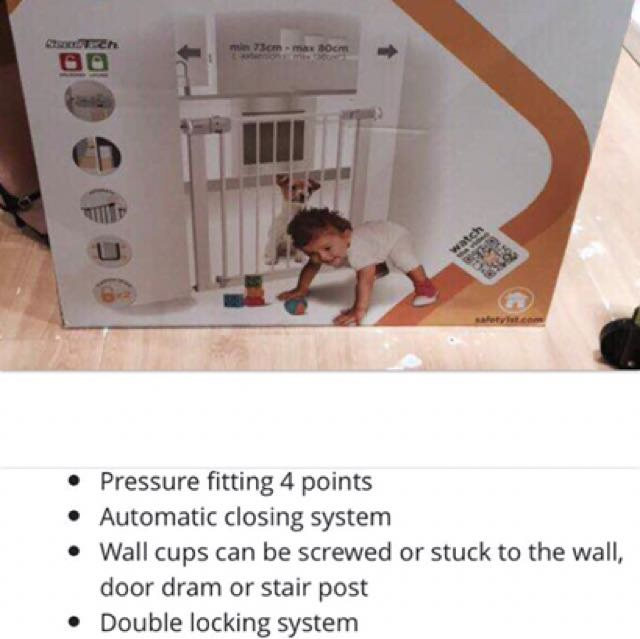 Baby Toddler Safety Gate