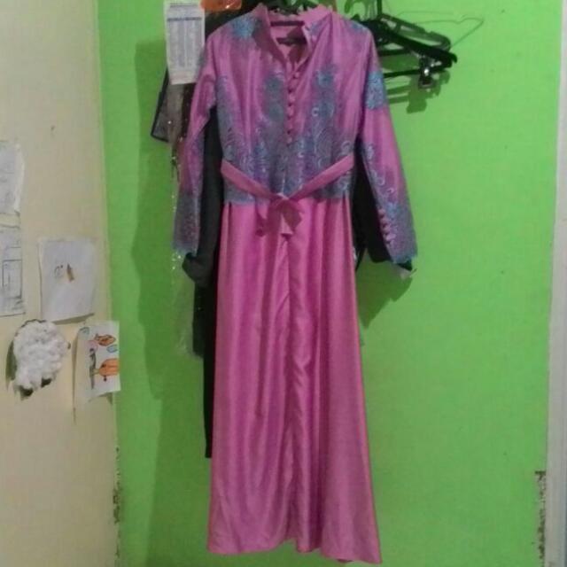 Baju Muslim Burkat Satin