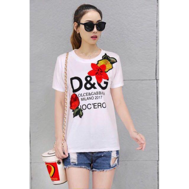 Bangkok D&G Copy Embroidered Shirt