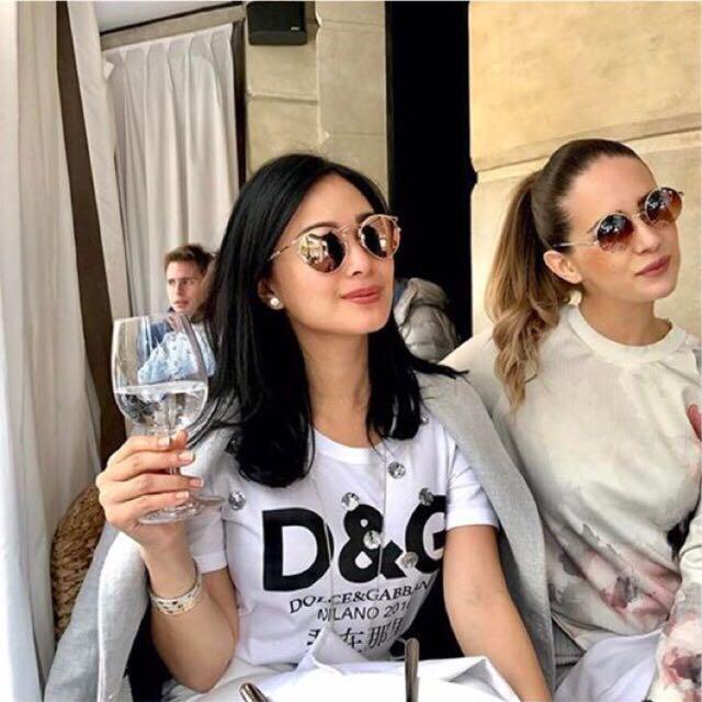 Bangkok D&G Copy Rhinestone Shirt