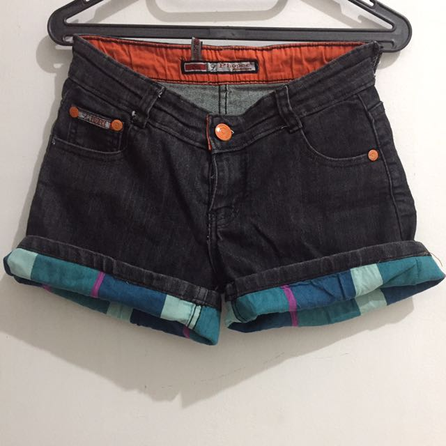Black Jeans Hotpants