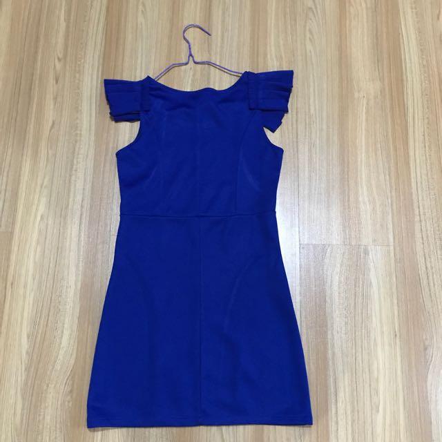 Blue Wing Dress