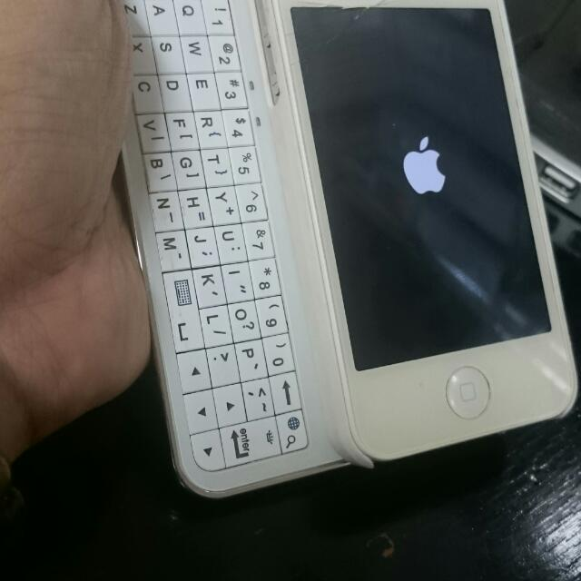 Bluethooth Wireless Keyboard For IPhone 4