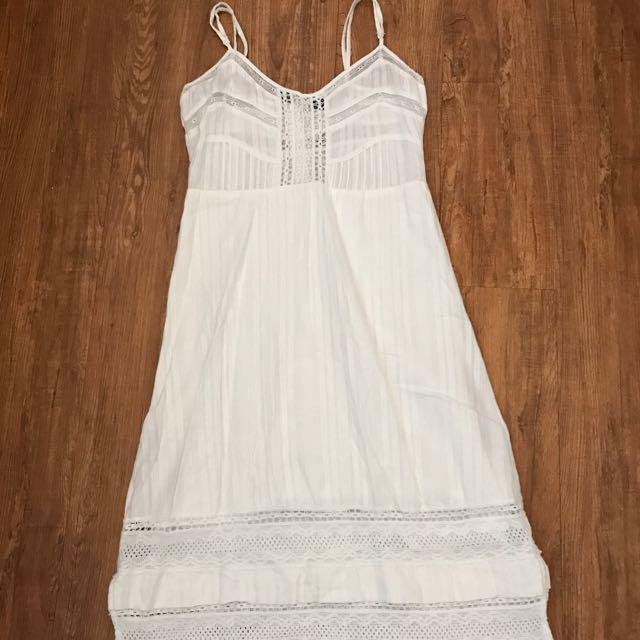 Boho Bardot Dress