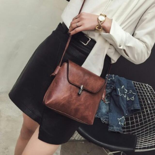 Brandnew Bullet Lock  Sling Bag -