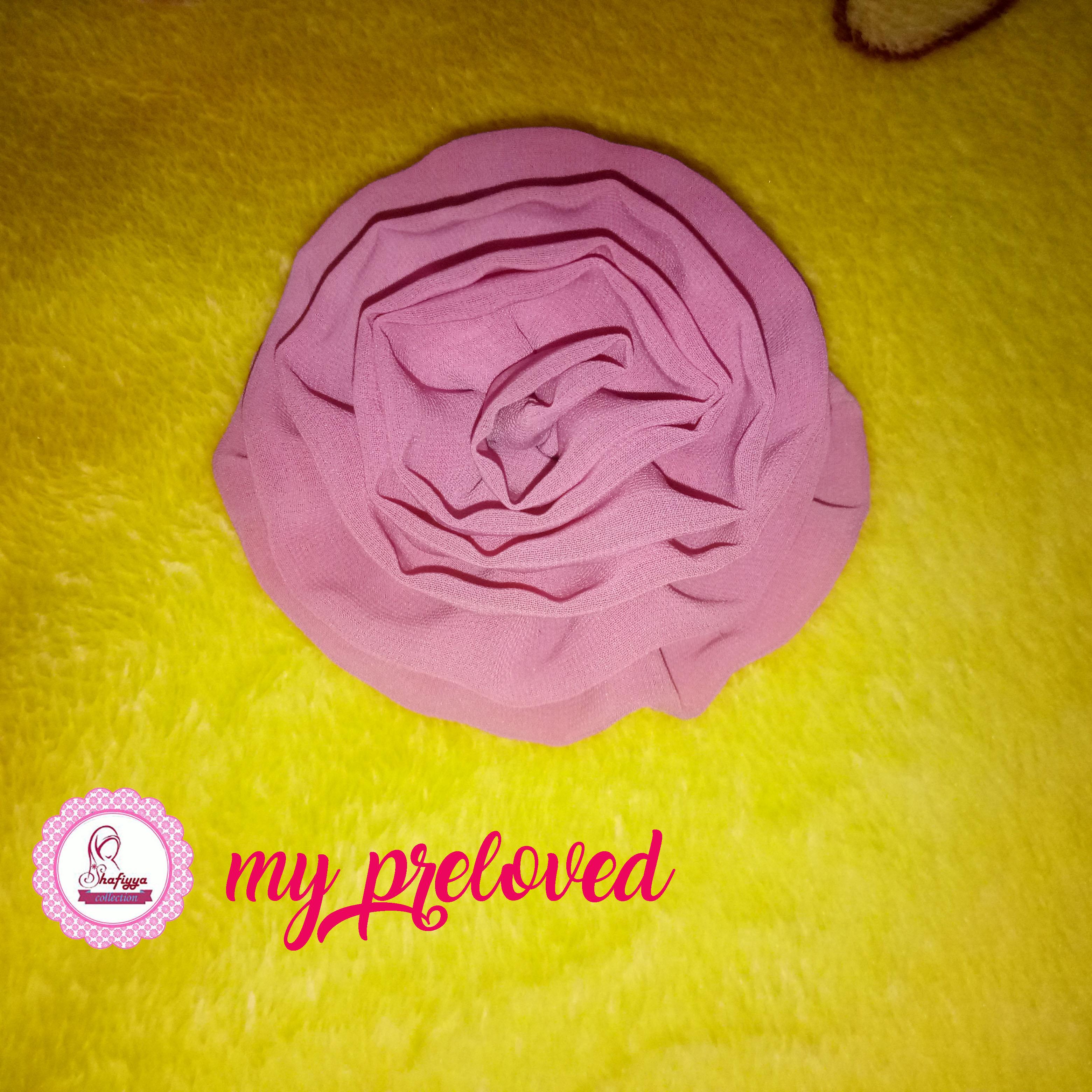 Bros/Bross Jilbab Bunga Pink