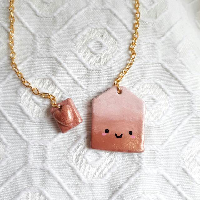 Brown Tea Bag Bookmark