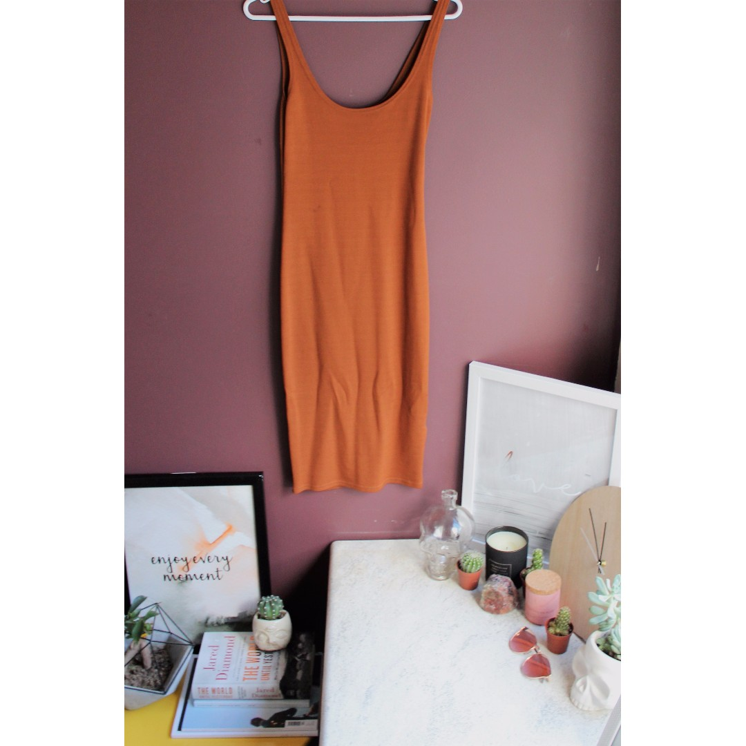 Camel Dress - BARDOT