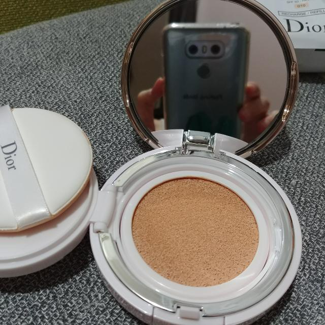 Capture Totale Dreamskin Perfect Skin Cushion Broad Spectrum Spf 50 1 Refill New Colour No 010