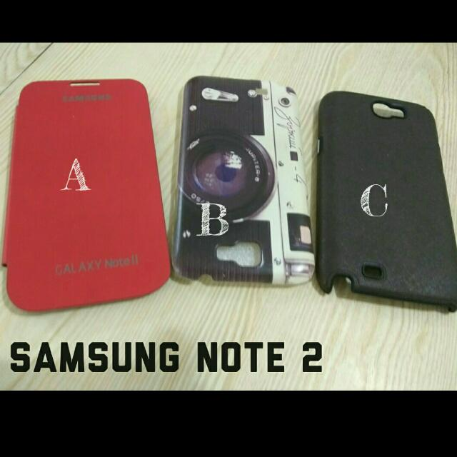 Casing SAMSUNG NOTE 2