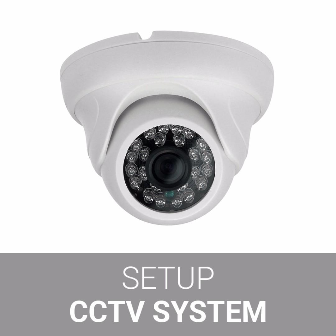 CCTV Camera + DVR Setup for Home/Office/Shops, Electronics, Others ...