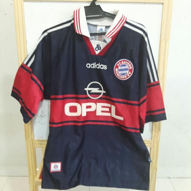premium selection 18c4e 90a37 Classic Bayern Munchen 97/99 Away Jersey (M) / Jersi Bayern Munchen Away  97/99 (M)