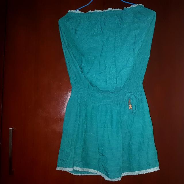 Cococabaña Bluegreen Dress Top