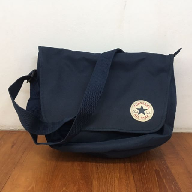 362fb2097317 Converse Navy Blue Messenger Bag