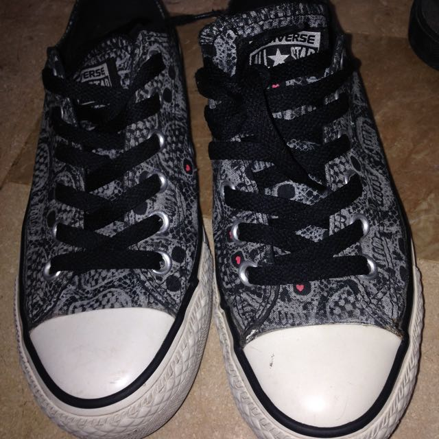 Converse Skull printed AUTHENTIC
