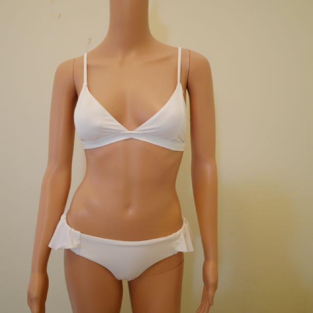Cotton On Cute White Bikini Set