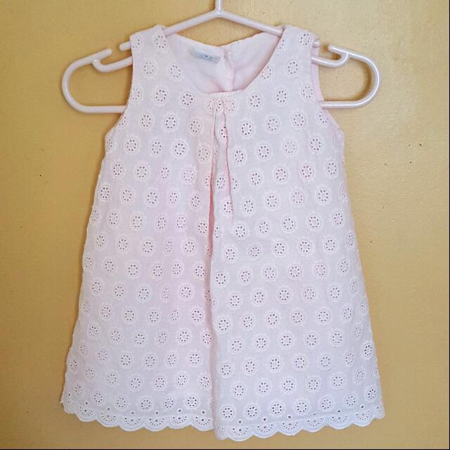 Crib Couture Eyelet Dress