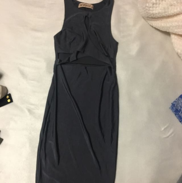 Dark Grey Tight Dress