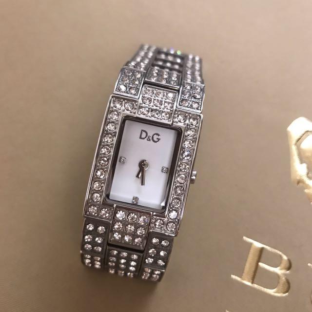 (二手)D&G鑽裝飾時尚錶女款