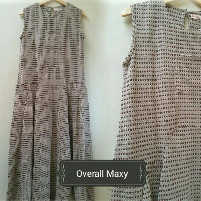 Dress Overall Maxy