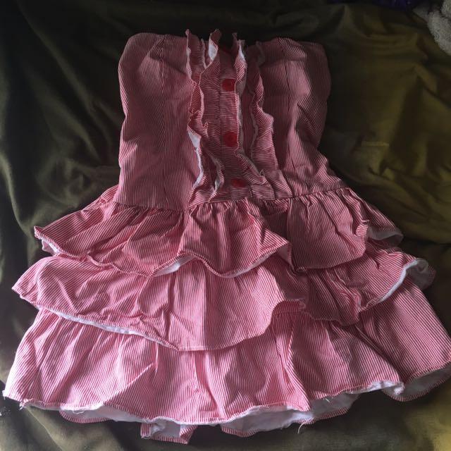 Dress Pesta Pink Country