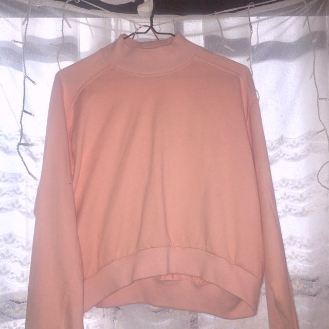 Dyspnea Pink Long Sleeve Sweater Shirt