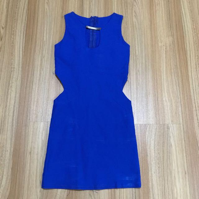 Electric Blue Slimfit Dress
