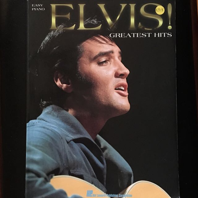 Elvis Easy Piano Book