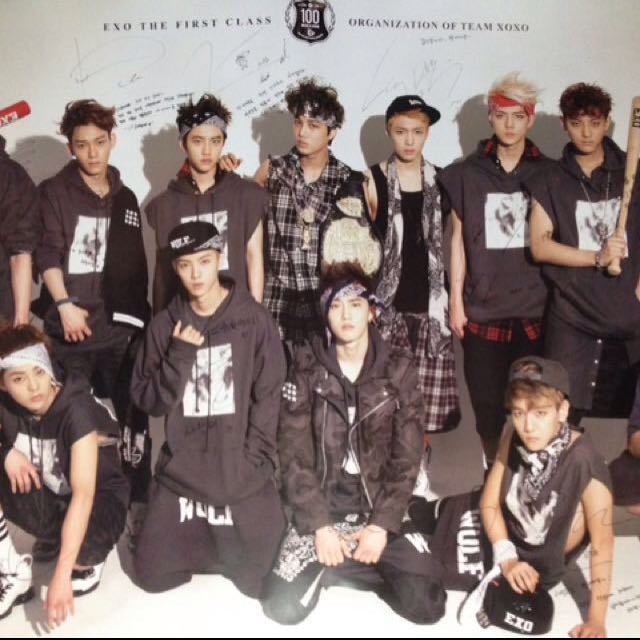 Exo Growl Limited Poster