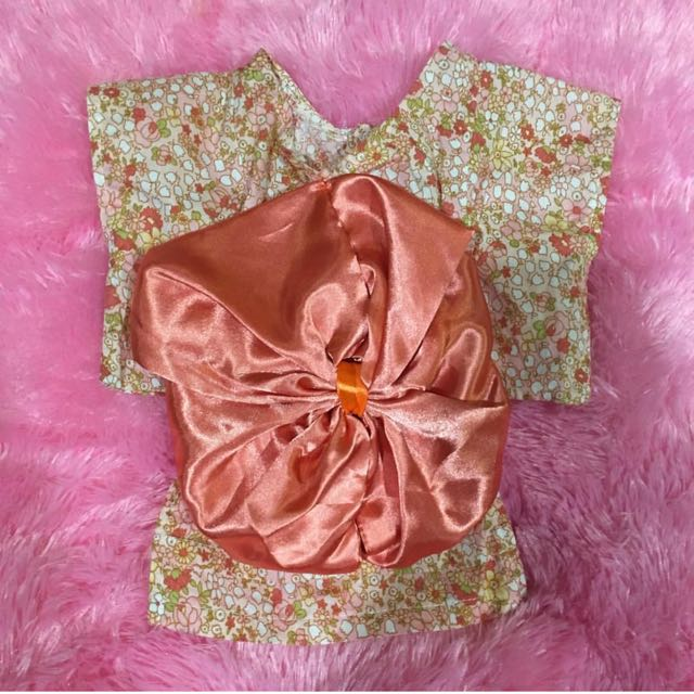 Flower Kimono Dress