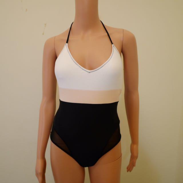 Forever21 Basic MultiColor One Piece Swimwear