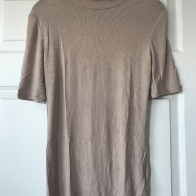 Forever 21 Nude Fitted Top