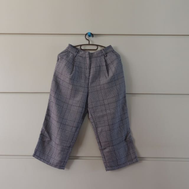 Forever 21 Plaid Culottes