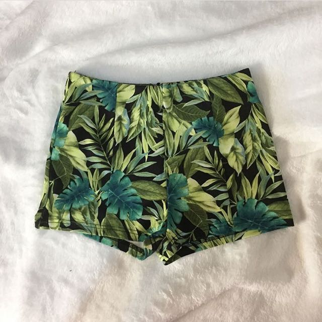 Forever 21 Tropical Shorts